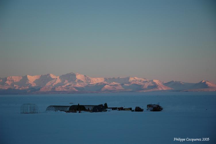 La base de McMurdo ; crédits CNES/Ph. Cocquerez